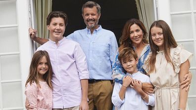 Princess Mary and her family, summer 2020