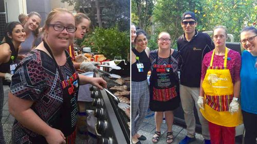Meet the Sydneysiders with Down syndrome giving back to their community