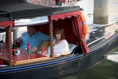 Which is how Kevin and Janetta felt aboard a genuine Gold Coast gondola.