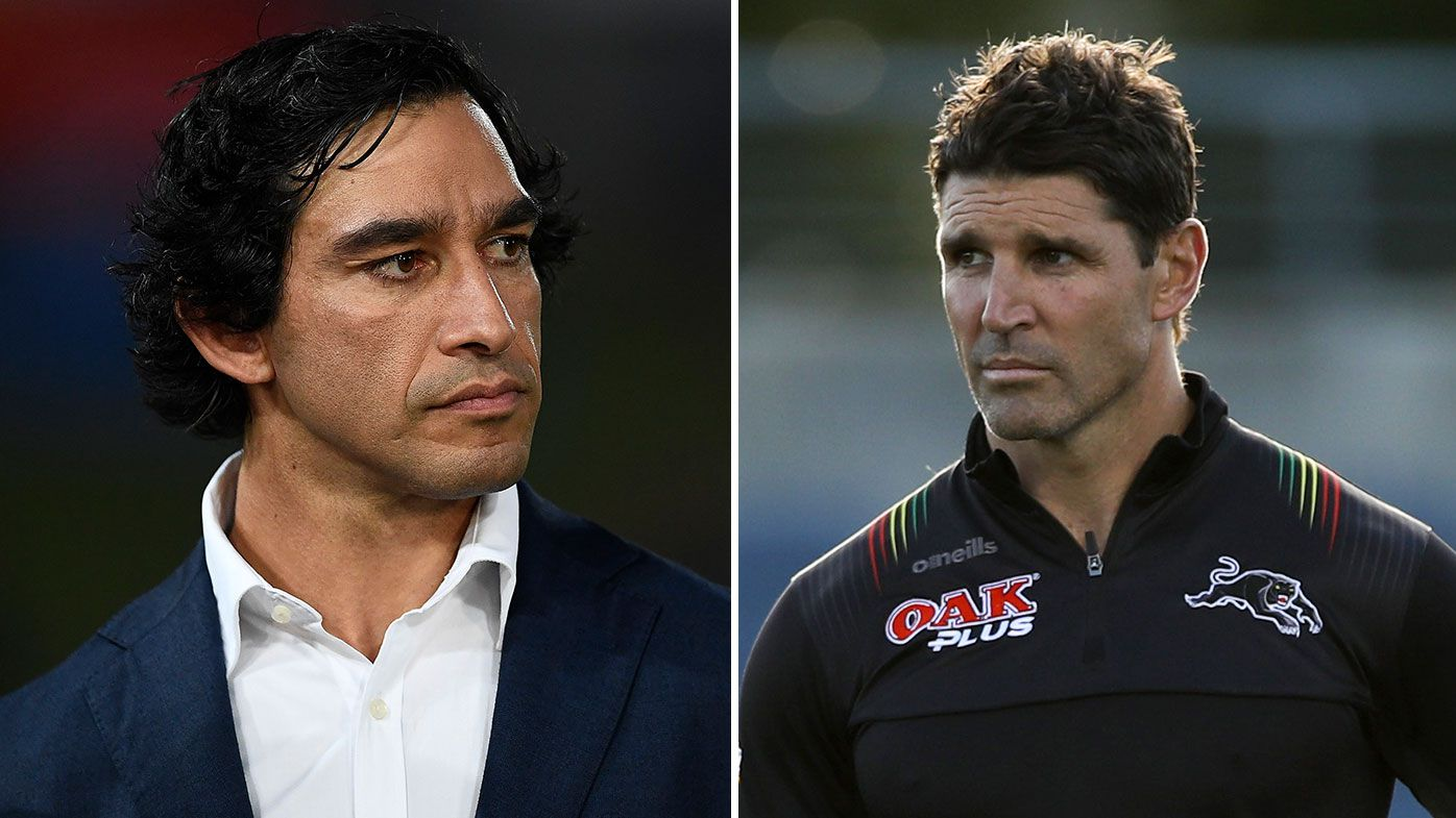 Johnathan Thurston urges Canterbury to consider an experienced coach
