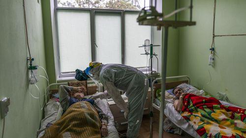 Ukraine coronavirus patients