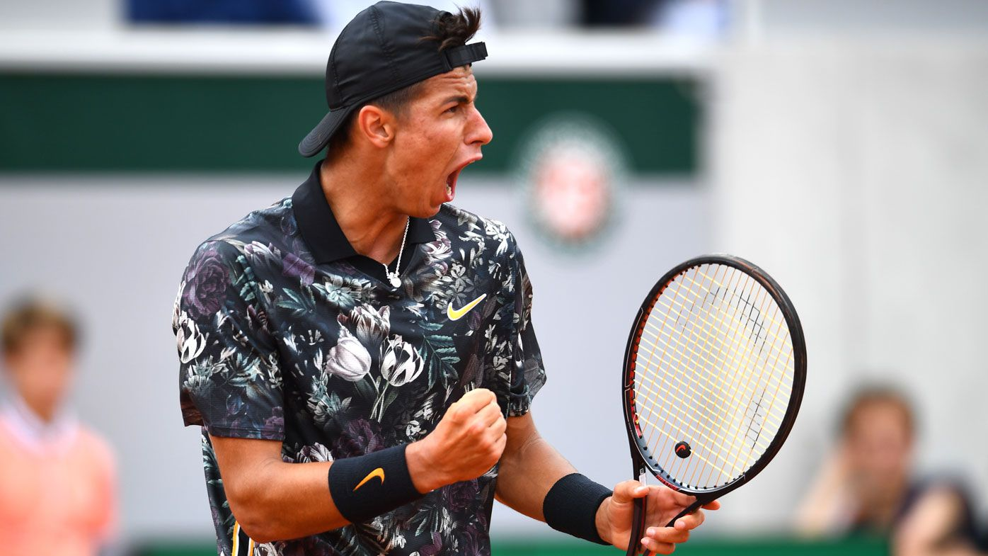 Alexei Popyrin on cusp of top 100 with Round 1 French Open win as wildcard