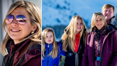 The Dutch royals hit the slopes, February 2019