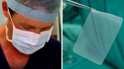 Mesh has been used to surgically repair hernias in Australia since the 1980s.