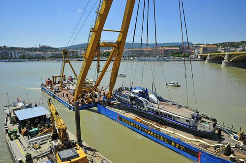 The Hableany sightseeing boat carrying 33 South Korean tourists and two Hungarian staff was crashed by a large river cruise ship and sank in the River Danube on May 29.