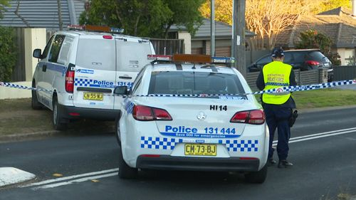 Police say the woman was knocked over by the unattended Mazda CX7 on Ambleside Drive in Castle Hill about 3.30pm yesterday. Picture: 9NEWS