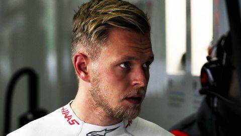Formula 1 driver Kevin Magnussen