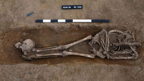 The Cambridge Archaeological Unit found 52 burials when excavating a farm in Somersham, eastern England.