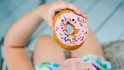 Sweet spot: Remember sugary snacks provide empty calories. Image: Getty