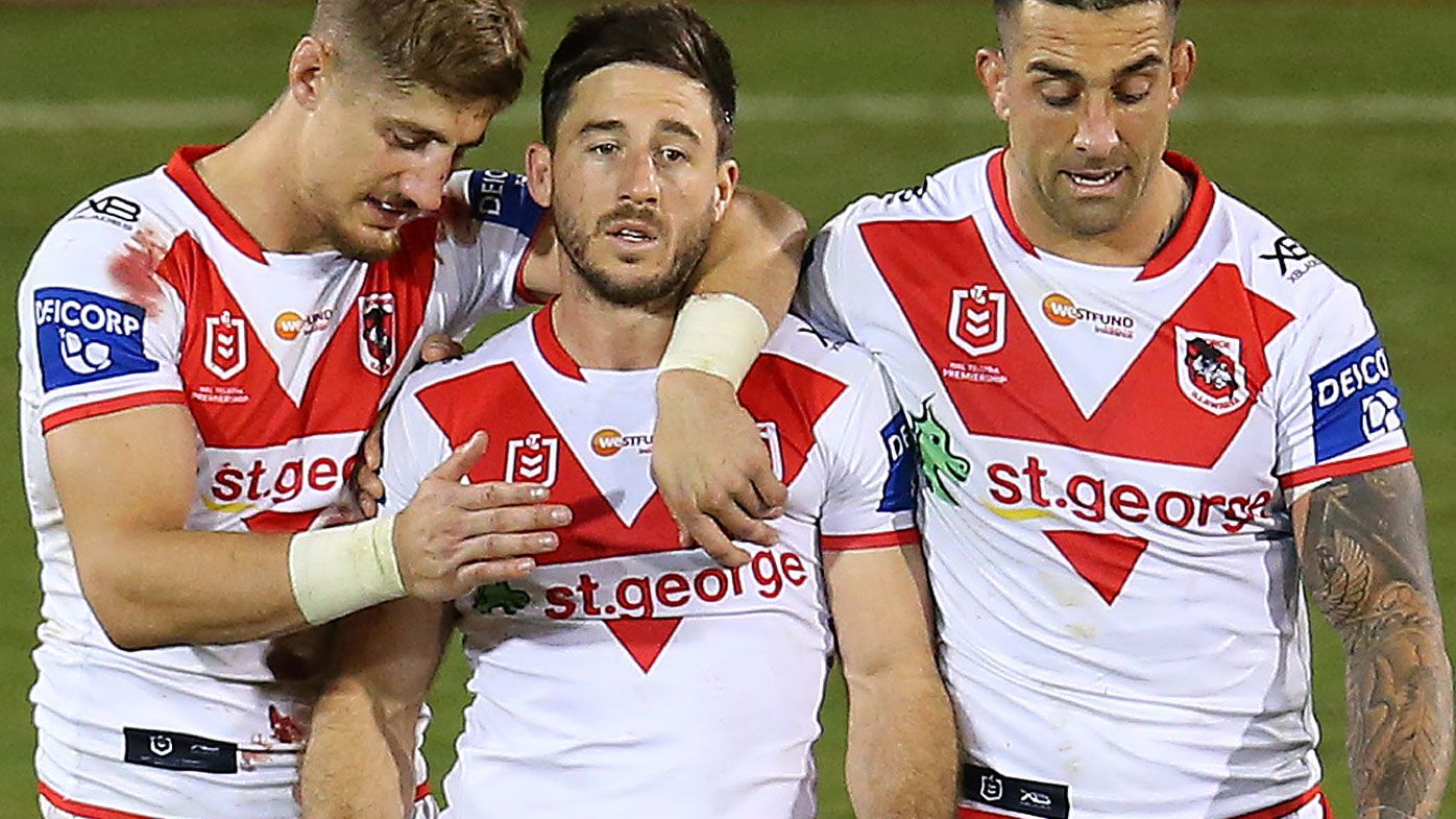 Dragons' $6m halfback Ben Hunt now a hooker after crucial win: Michael Ennis