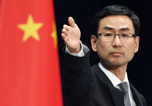 China's foreign minister Geng Shuan has responded to the spy accusations. (AAP)