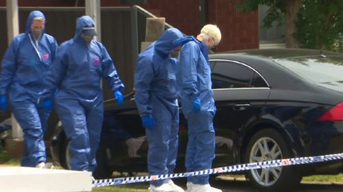 A body has been found outside a home in Mount Pritchard, Sydney.