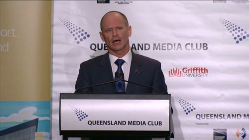Newman criticised Labor's 'modest' election commitments. (9NEWS)