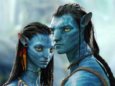 The 2009 film 'Avatar' starred Aussie actor Sam Worthington and Zoe Saldana