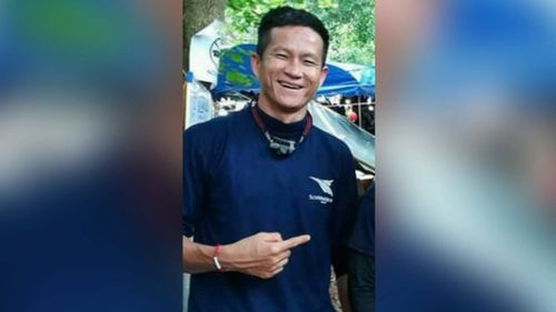 Former Sergerant Saman Kunan died in the rescue attempt.
