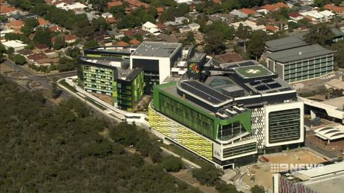 The opening of the $1.2 billion Perth Children's Hospital might be delayed.
