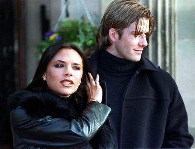 Victoria Beckham, David Beckham, engagement