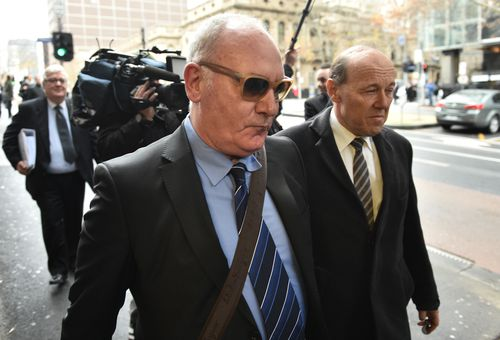 The 61-year-old has pleaded guilty to more than 50 offences. (AAP)
