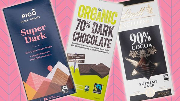 Dark chocolate ranked