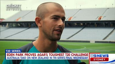 Cricket: Aussie spinner Ashton Agar accepts Eden Park's T20 challenge