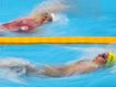 Another gold rush for Aussie pool star