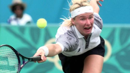 Jana Novotna has died aged 49. (AAP)