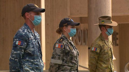 The ADF will be providing additional assistance to the NSW Police and NSW Health amid Sydney's current COVID-19 outbreak.