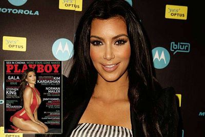"""Kim Kardashian revealed she regrets her 2007 spread in <i>Playboy</i>. Not all that scandalous a revelation, until she added that her mum Kris Jenner <i>pressured her into doing the shoot to promote the family's reality show</i>. """"'Go for it', my mother said, 'They might never ask you again. Our show isn't on the air yet. No-one knows who you are. Do it and you'll have these beautiful pictures to look at when you're my age',"""" Kim told <i>Harper's Bazaar</i>. There's a story to tell the kids about grandma!"""