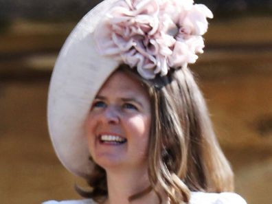 Lady Laura Meade, Godmother to Prince Louis, as his christening takes place.