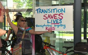 Protesters demand Perth lord mayor Basil Zempilas quit over transgender comments