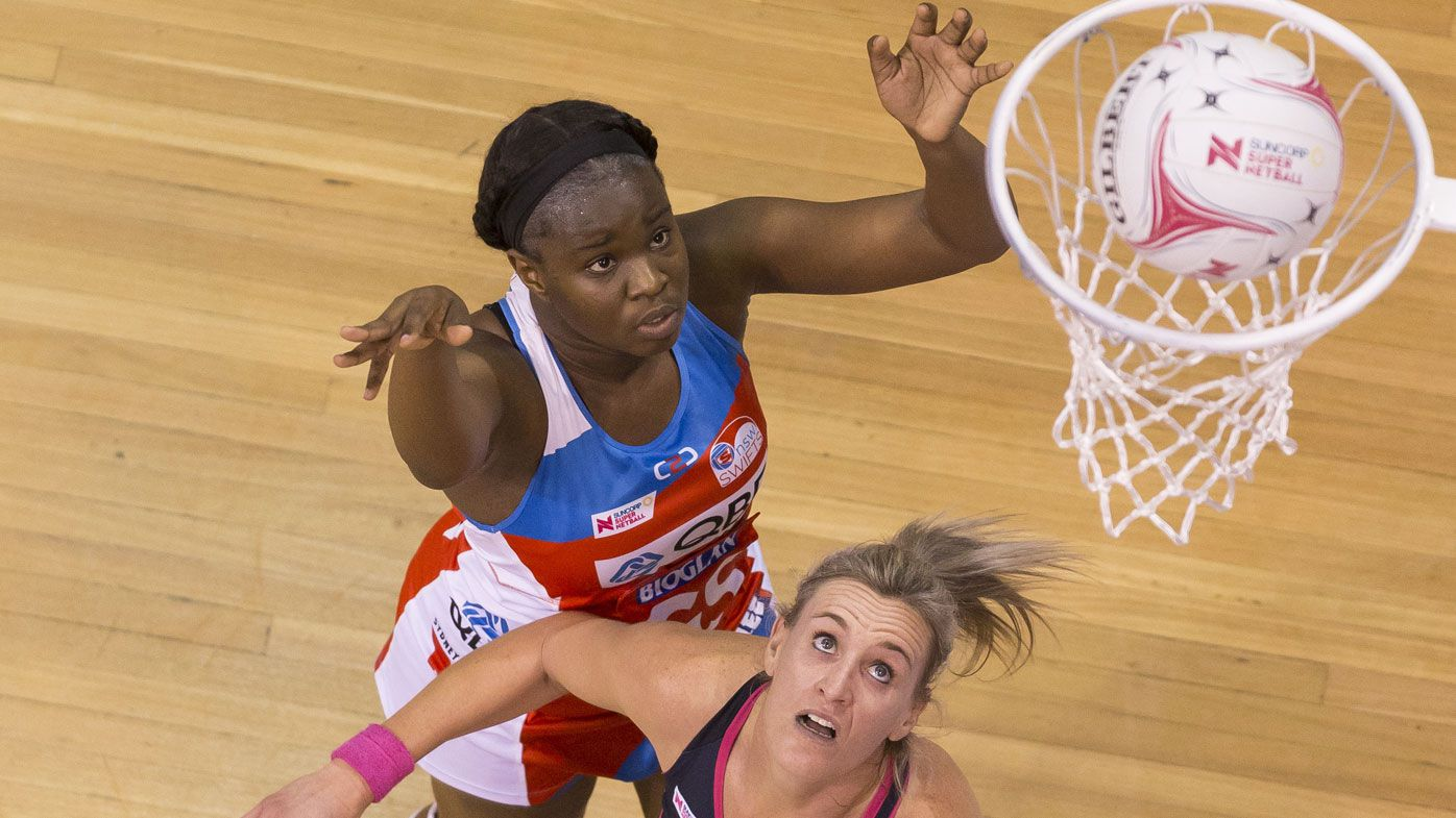 NSW Swifts score tight win over Adelaide Thunderbirds in Super Netball