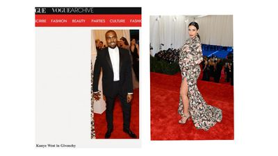 Vogue does not approve of Kim Kardashian's MET look