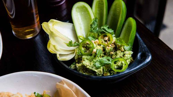 Potts Point Hotel's avocado guacamole