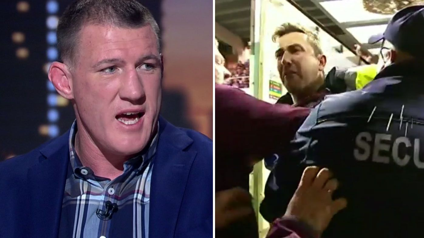 Gallen sounds off after fan altercation with Will Chambers