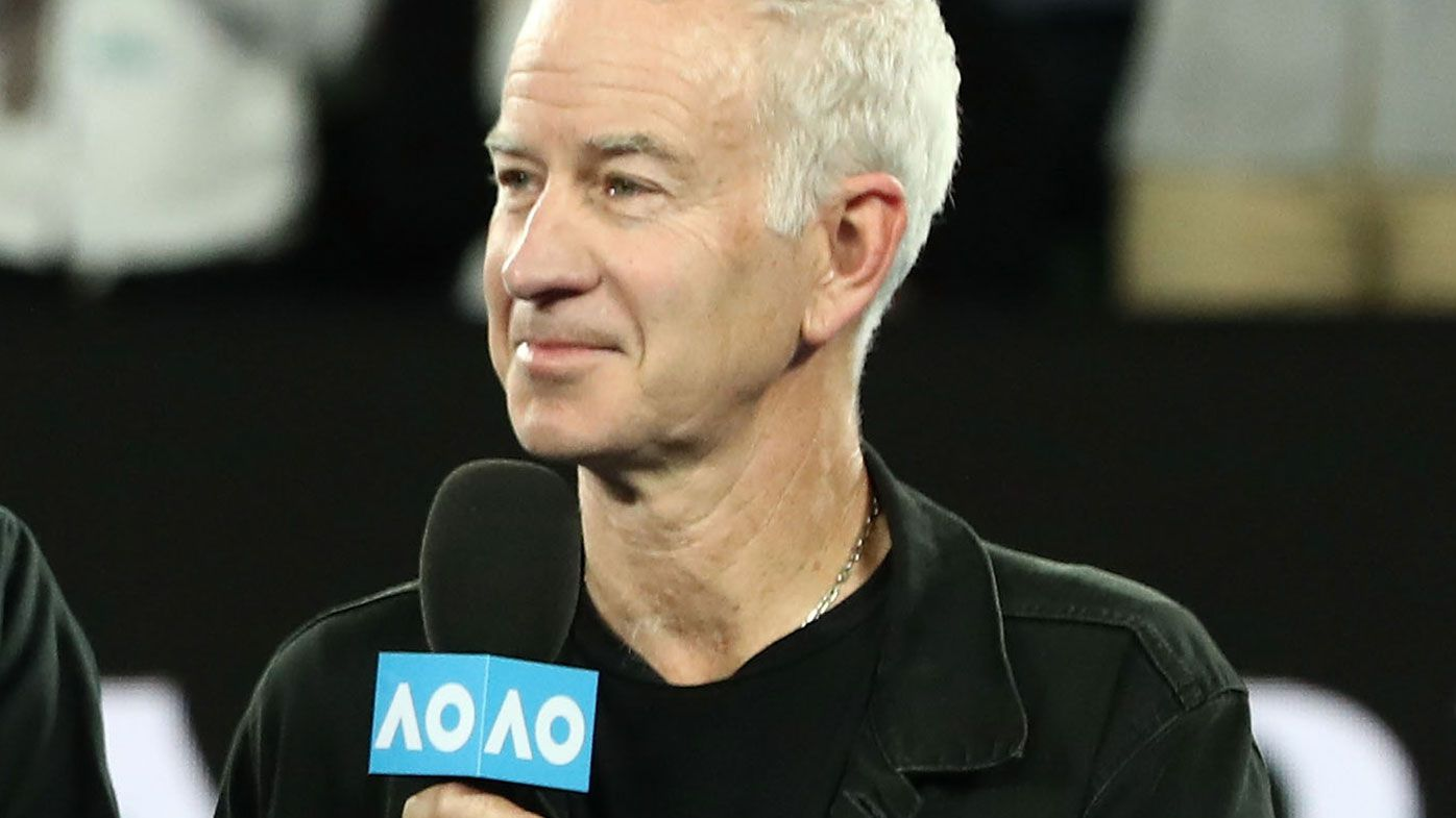 Nine's tennis commentary team
