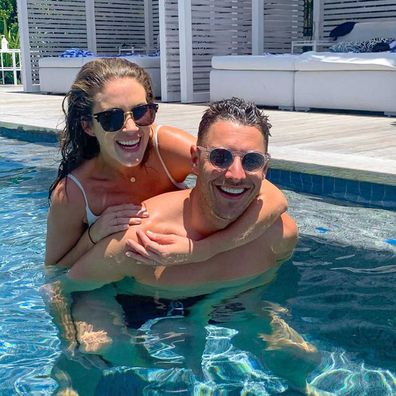 Georgia Love and Lee Elliott.