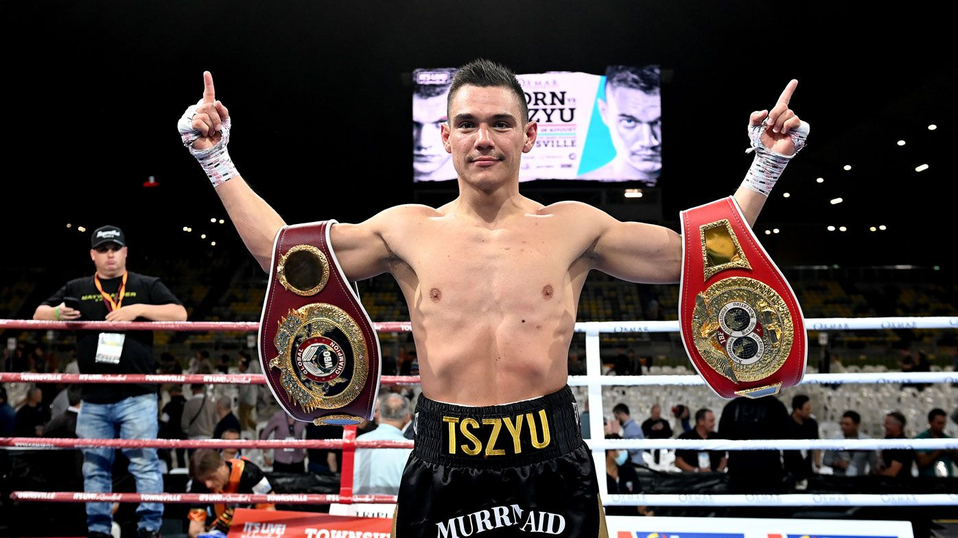 'Legit', 'bright new star': Boxing world takes notice of Tim Tszyu's demolition of Jeff Horn