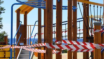 Melbourne's playgrounds will be closed.