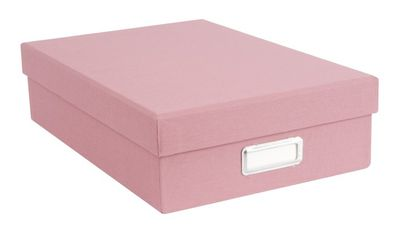 "<a href=""http://www.kikki-k.com/half-a4-storage-box-cloth-1"" target=""_blank"">Kikki K A4 Cloth Storage Box, $24.95.</a>"