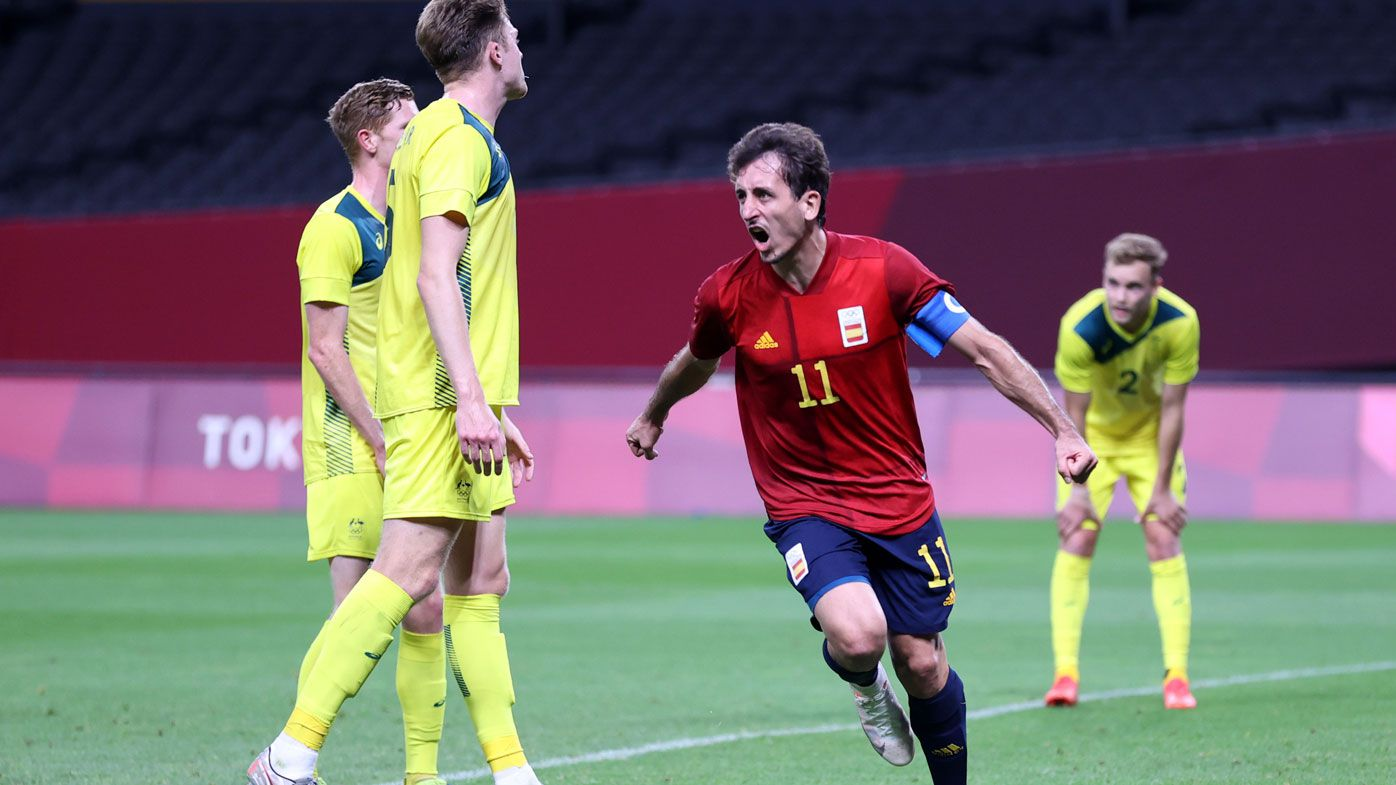Spain down the Olyroos in Sapporo.