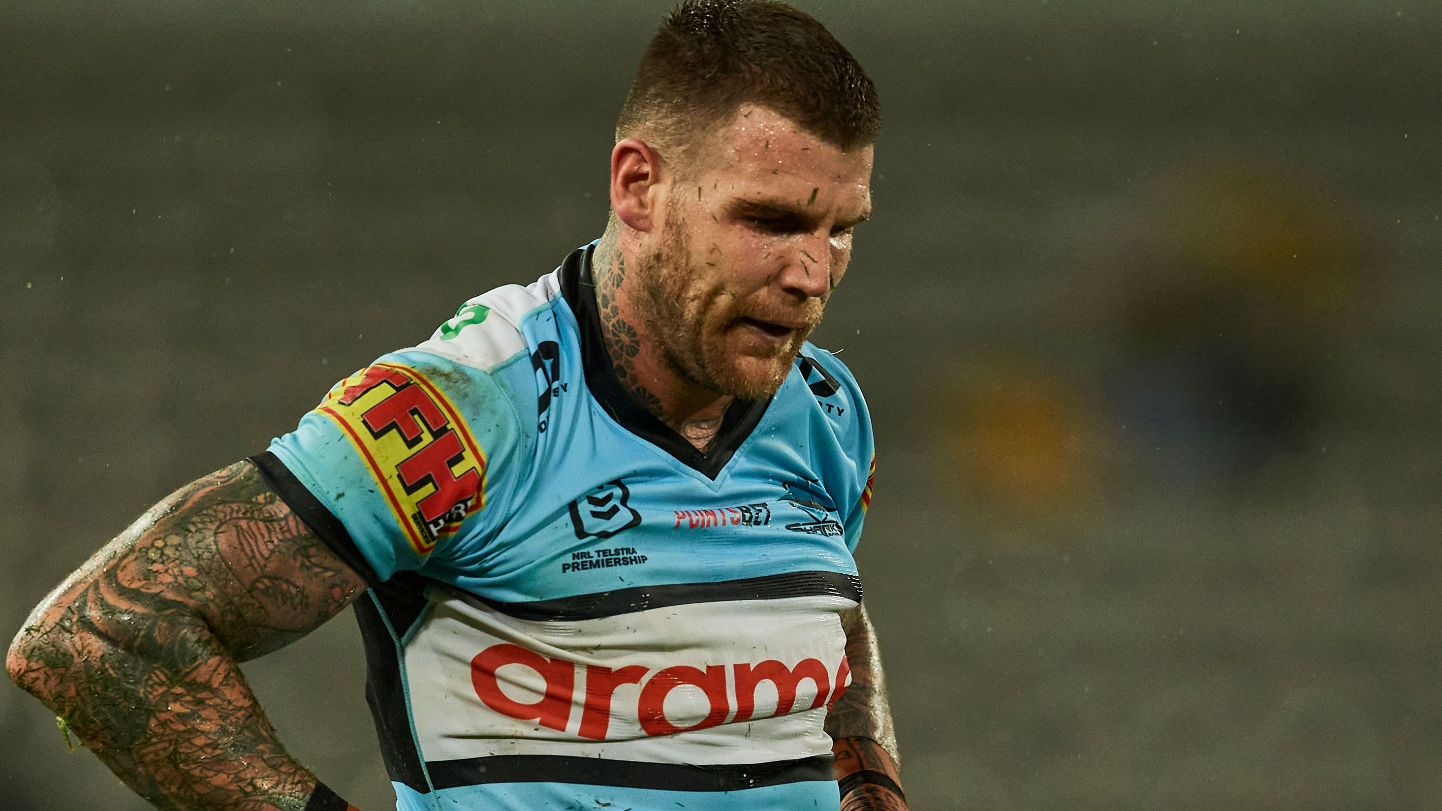 Sharks player Josh Dugan.
