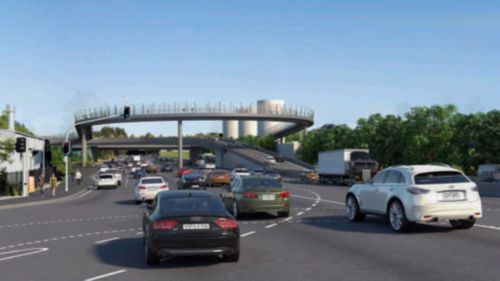 Sydney locals are angry over the decision to make an underpass on the M4 an overpass instead.