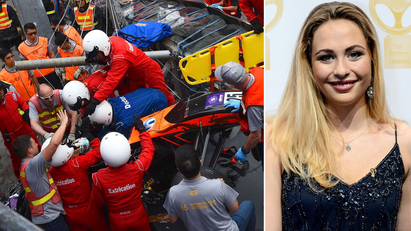 Teenage Formula 3 driver in surgery after her horrific crash