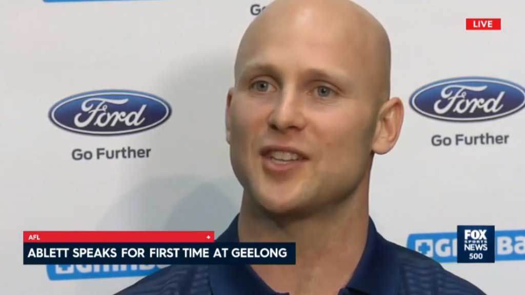 Ablett thrilled to be back at the Cats