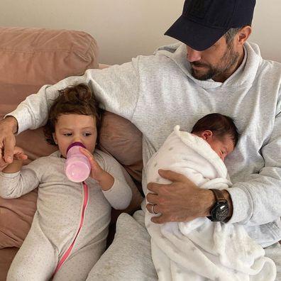Sam Wood being a dad