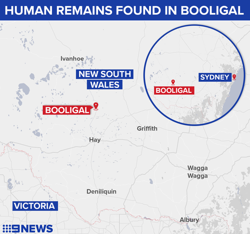 Human remains found in burnt-out car on NSW highway