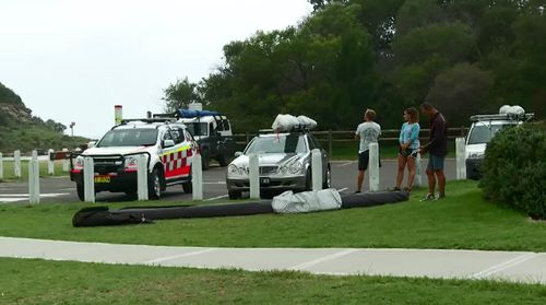 The man was treated at the scene for head, jaw and lung injuries by paramedics and surf life saving volunteers  (Supplied).