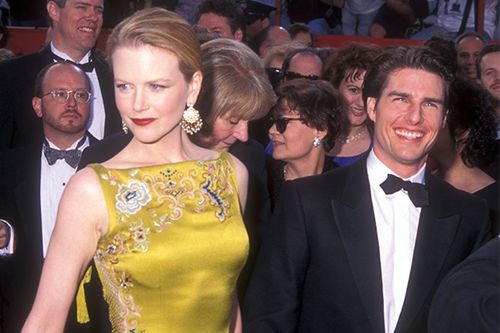 "Tom Cruise and Nicole Kidman made many red carpet appearances during their eleven year marriage, this Oscars event being one of their last. Tom's never actually taken home an award, but Nic took out the top gong for <i _tmplitem=""15"">The Hours</i> a few years later - a movie she almost quit due to depression after their divorce."
