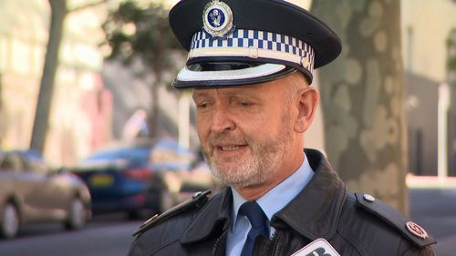 Acting Assistant Commissioner Allan Sicard says 'do not take illicit drugs'.