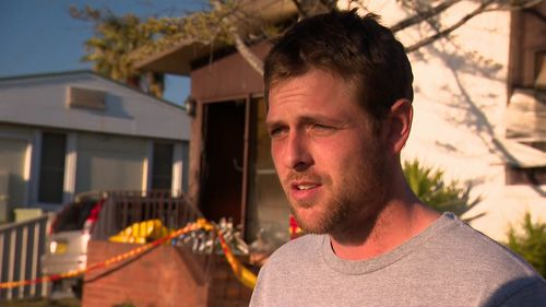 Jake Bush was one of the first residents in the street to assist in the rescue.